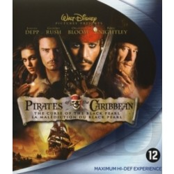 Pirates Of The Caribbean The Curse Of The Black Pearl (Blu ray)