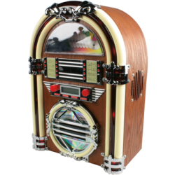 Retro mini jukebox met AM FM radio en cd speler