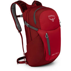 Osprey Day Pack rood