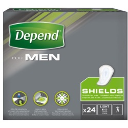 Depend Shields Light Man