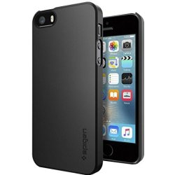 Spigen Thin Fit for iPhone 5 5s SE black