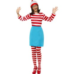 wheres wally Wenda Kostuum