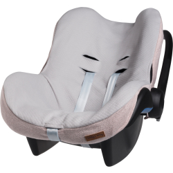 Baby's Only Sparkle Autostoelhoes Maxi Cosi Zilver Roze Mêlee