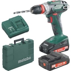 Metabo BS 18 Quick 18V Li Ion accu boor schroefmachine set (2x 2.0Ah accu) in koffer