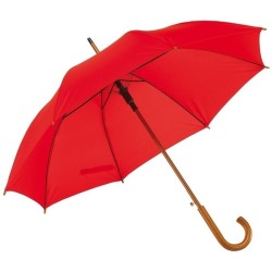 Grote paraplu rood 103 cm Rood