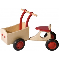 Bakfiets rood
