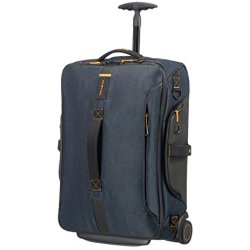 Samsonite Paradiver Light Duffle Wheels 55 Strict Cabin Jeans Blue