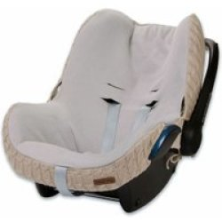 Baby's Only hoes autostoel Maxi Cosi kabel teddy beige