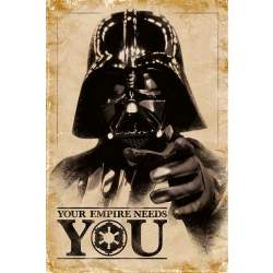 Pyramid Star Wars Your Empire Needs You Poster 61x91 5cm