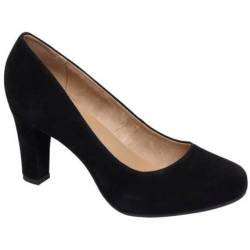 vanHaren 5th Avenue suède pumps zwart