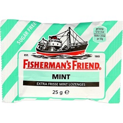 Fishermansfriend Mint Suikervrij (25g)