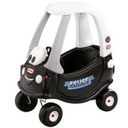 Little Tikes Cozy Coupe Speciale Politie Editie Loopauto