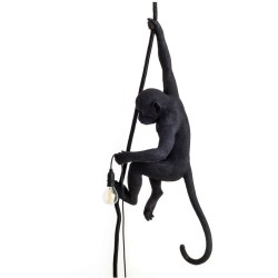 Seletti Monkey Outdoor Lampresin Aan Touw