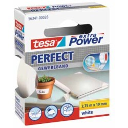 Tesa extra Power Perfect ft 19 mm x 2 75 m wit