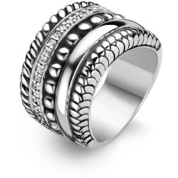 TI SENTO Milano Ring 1835ZI Maat 56 (17 75 mm) Gerhodineerd Sterling Zilver