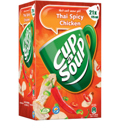 Cup a Soup thai spicy chicken pak van 21 zakjes