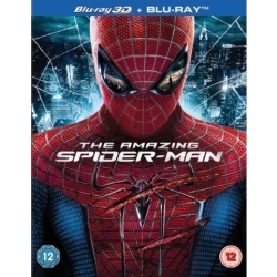 The Amazing Spider Man (3D) (3D 2D Blu ray)