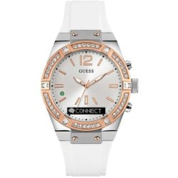 GUESS Connect Hybride smartwatch Wit 43mm