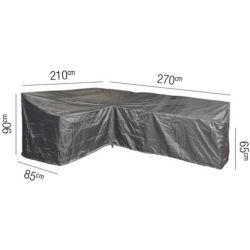 Platinum AeroCover Loungesethoes 270 x 210 x 85 x 65(h) cm L vorm Links