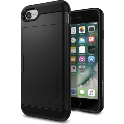 Spigen Slim Armor CS iPhone 7 8 zwart