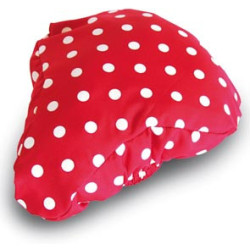 BASIL ROSA SADDLE COVER. rood wit