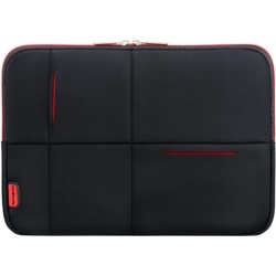 Samsonite Airglow Laptop Sleeve 14 1 inch Zwart Rood