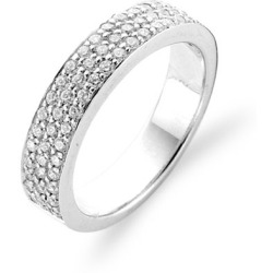TI SENTO Milano Ring 1401ZI Maat 54 (17 25 mm) Gerhodineerd Sterling Zilver