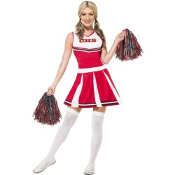 Cheerleader Rood