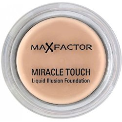 Max Factor Miracle Touch foundationmake up Pot Poeder