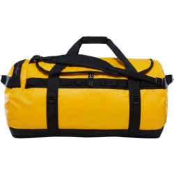 The North Face Base Camp Duffel Reistas L 95 L Summit Gold TNF Black vernieuwd model