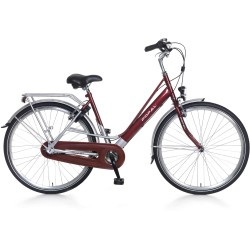 Popal Stadsfiets City Classic Dames Rood 57cm Rood
