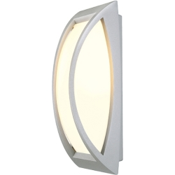 MERIDIAN 2 wand armatuur zilvergrijs E27 Energy Saver max. 25W IP54