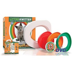 Litter Kwitter LK1 3 staps katten toiletten trainingssysteem