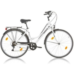 Expert Avenue 28 Inch 46 cm Dames 6V V Brake Wit