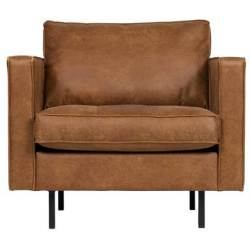 BePureHome Fauteuil Rodeo Classic Cognac