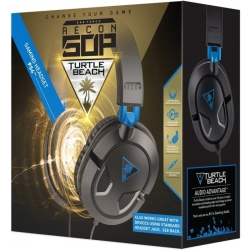 Turtle Beach Ear Force Recon 50P Gaming Headset (Zwart)