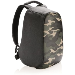 XD Design Bobby compact anti diefstal rugzak anti theft backpack laptoptas camouflage groen