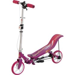 Space Scooter Step Roze Wit
