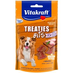 Vitakraft treaties bits bacon style 120 gram