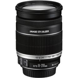 Canon EF S 18 200mm f 3.5 5.6 IS objectief