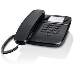 Gigaset DA510 desk phone without display caller ID and handsfree Black