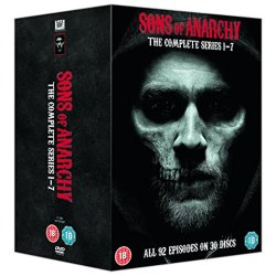 Sons Of Anarchy Seizoenen 1 7 Complete (Import)