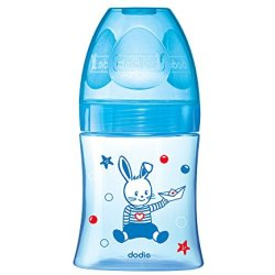 Dodie Zuigfles Initiatie Blauwe Boot 150ml
