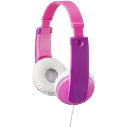 JVC HA KD7PE On ear kids koptelefoon Roze