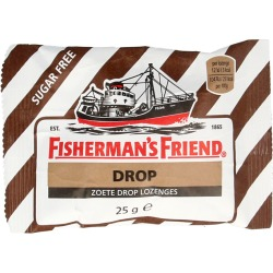 Fishermansfriend Zoete Drop Suikervrij (25g)