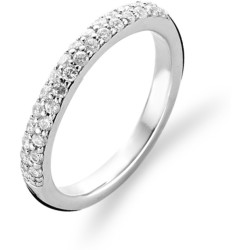 TI SENTO Milano Ring 1414ZI Maat 60 (19 mm) Gerhodineerd Sterling Zilver