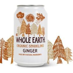 Whole Earth Ginger 330ml