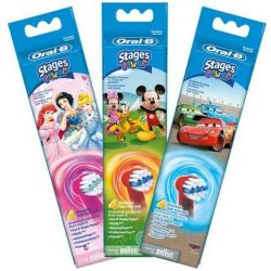 Oral B Stages Power Opzetborstels 4st Cars
