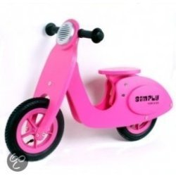 Simply Loop Scooter Roze