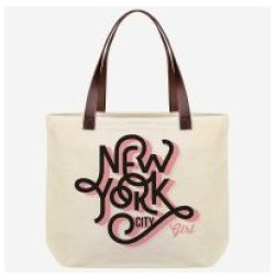 LEGAMI SHOPPER met rits New York City Girl